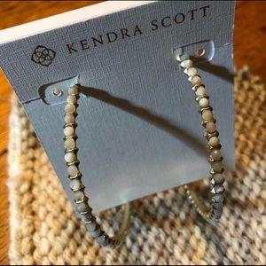Kendra Scott Birdie Hoop Earrings